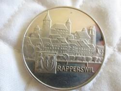 Svájci ezüst tallér 1970 érme 28gr - 0.835ag
