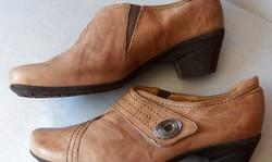 GABOR  márkás 100 euros kívül-belül valódi finom bőr különleges kényelmi luxus női cipő 42
