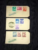 1959 Balaton sor borítékon veszprémi bélyegzéssel