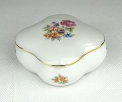0Z050 Régi jelzett német porcelán gyűrűtartó