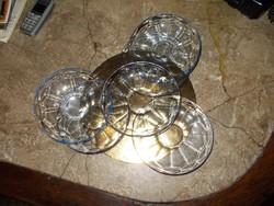 Kék színű sütis tányérok