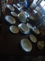 Zsolnay barokk stafír étkészlet (6 szem)