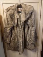Róka műszőrme kabát