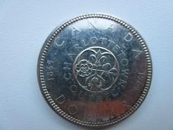 1964 Kanada Konföderációs konferencia 23.5gr 0.800ag ezüst érme 36mm
