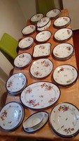 Cseh aranyozott étkészlet 38 db-os
