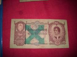 1931-es Nyilaskeresztes 50 pengő
