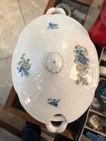 Drasche nagyméretű, 35 cm-es, leveses tál, porcelán,hibátlan