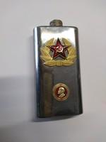 Szovjet és Lenin mintájú flaska