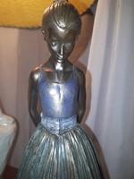 Balettáncos lány szobor