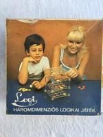 Ma mar extrém ritka Trial logi 3d logikai játék kultuszjáték - Játék Eredeti Dobozában