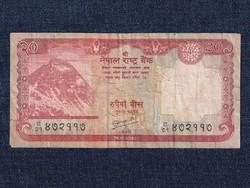 Nepál 20 Rúpia bankjegy 2010 / id 12837/