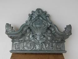 Gyönyörű antk szeci kályha Nagykőrös Molnár Dániel jelzett munkája 1900 k. Akár egy Zsolnay !!!