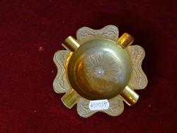 Indiai réz hamutartó, 12,5 cm átmérővel.