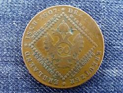 Ausztria II. Ferenc 30 Krajcár 1807 B / id 14267/