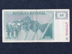 Szlovénia 10 tolar bankjegy 1990 / id 12814/