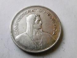 Ezüst   5 Frank 1954 Svájc