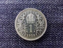 Ausztria Osztrák-Magyar .835 ezüst 1 Korona 1913 / id 13975/