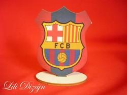 FC BARCELONA CÍMERPAJZS ALAKÚ ÁLLÓ FA KÉP
