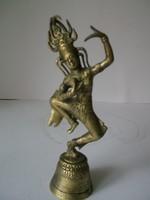 Indiai rézcsengő táncosnővel