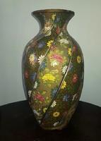Fischer Ignác, jelzett nagyméretű váza, 38 cm.