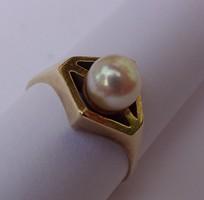 14 karátos ,arany gyűrű