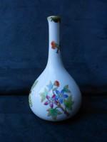 Herendi, viktóriás, pillangós kis váza, hibátlan, gyűjtői darab. Karácsonyra, ajándéknak is kiváló