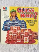 Retro MB Games Guess Who játék - társasjáték