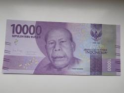 Indonézia 10000 rupiah 2019 UNC
