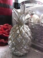 Dekorációs ezüst ananász