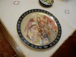 Bradex tányér 24 cm átm.Jelzett, számozott
