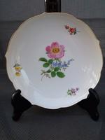 Meissen porcelán,ajàndéknak, kínáló tál tálka!, Asztalközép kardos régi jelzés! Luxus. Porcelán.