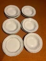 Zsolnay arany tollazott tányérok pótlásnak
