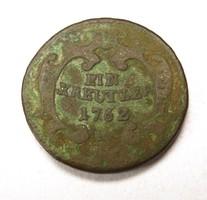 1 krajcár 1762 K
