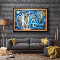 Modern festmény