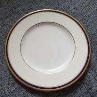 Antik Minton salátás tányér. Kék szegéllyel. Sorszámozott.