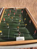 Retro asztali rugós foci - játék sport - eredeti dobozában