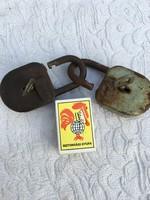 Retro 2 darab régi lakat - Gogi és Elzett - Made in Hungary Kulcs