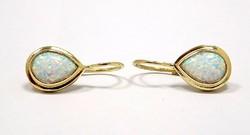 Opál köves arany fülbevaló (ZAL-Au86164)