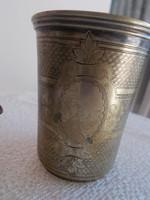 Keresztelő pohár mesterjellel