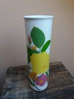 Virágmintás Rosenthal váza, Wolf Bauer tervezése