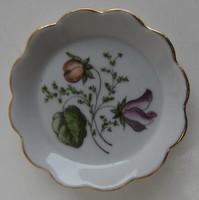 Gyűrűtartó tálka - Aquincumi porcelán