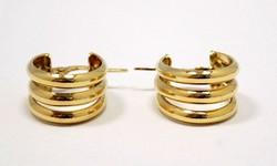 Arany karika fülbevaló (ZAL-Au85124)