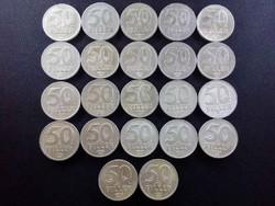 50 Fillér - '67, '68, '69, '73-91 / id 3340/
