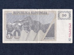 Szlovénia 50 tolar bankjegy 1990 / id 12813/