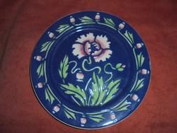 Szecessziós Sarreguemines porcelán tányér