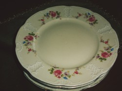 Csont színű antik porcelánok 4 db