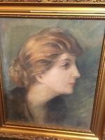 Páldy Zoltán garantáltan eredeti varázslatos festménye