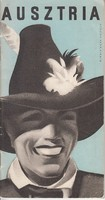 AUSZTRIA idegenforgalmi kiadvány 1930as évek