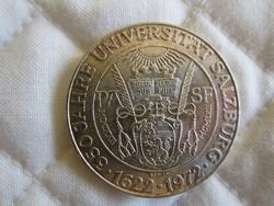 Osztrák Ausztria 50 shilling ezüst érme  20gr - 0.900ag  1972