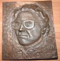 Máté Péter 2007 Emlékkoncert - réz falikép